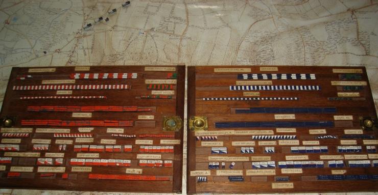 British game playing pieces