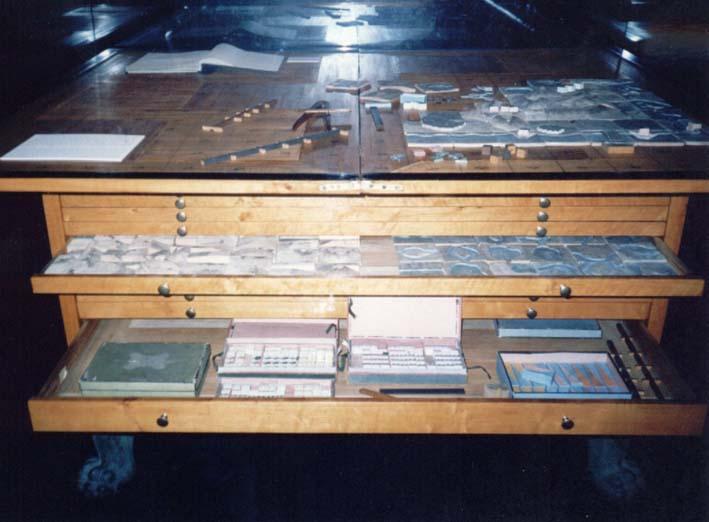 The display from origins of Kriegsspiel